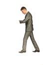 Business man walking at work Royalty Free Stock Photo
