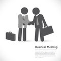 Business meeting investment partner concept Royalty Free Stock Photography