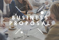 Business Meeting Report Proposal News Concept Royalty Free Stock Photo