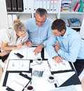 Business meeting - Team working on project Royalty Free Stock Images