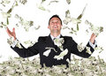 Business millionaire Royalty Free Stock Photography