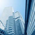 Business modern center in hongkong Stock Images