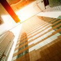 Business modern center in hongkong Royalty Free Stock Image
