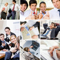 Business on the move Royalty Free Stock Image