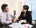 Business negotiation Royalty Free Stock Photography