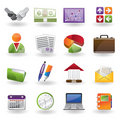 Business and office icon Royalty Free Stock Photo