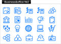 Business/office icons (2) Stock Image