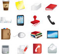 Business office items icon Royalty Free Stock Photo