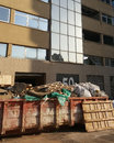 Business office overhaul, repair and finishing, construction garbage collector