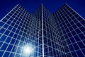 Business Office Reflective Glass Building Royalty Free Stock Photo