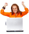 Business online success Stock Photo