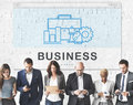 Business Organization Company Tools Concept Royalty Free Stock Photo