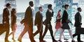 Business People Corporate Walk...