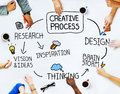 Business People and Creativity Concept Royalty Free Stock Photo