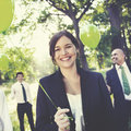 Business people green business environmental conservation concep concept Stock Images