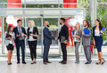 Business People Group Boss Hand Shake Welcome Gesture Top Angle View, Businesspeople Team Handshake Sign Contract