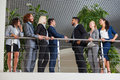 Business People Group Boss Hand Shake In Modern Office, Businesspeople Team Handshake Sign Up Contract