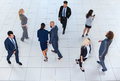 Business People Group Going, Busy Businesspeople Team Crowd Colleague Royalty Free Stock Photo