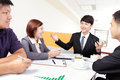 Business people group meeting at office asian Royalty Free Stock Images