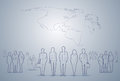 Business People Group Silhouette Executives Team Businesspeople Teamwork Concept Royalty Free Stock Photo