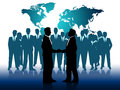 Business people indicates work together and businesspeople meaning working job Royalty Free Stock Images