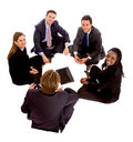 Business people isolated Stock Photo
