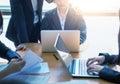 Business People Meeting Corporate Success Brainstorming Teamwork
