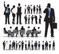 Business people meeting vector the of Stock Images
