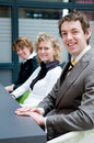 Business people in an office Royalty Free Stock Photos