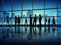 Business People In A Office Building Royalty Free Stock Photo