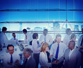 Business People Office Workplace Interaction Conversation Teamwo Royalty Free Stock Photo