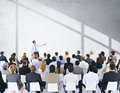 Business People Seminar Conference Meeting Presentation Concept Royalty Free Stock Photo