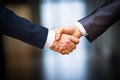 Business people shaking hands Royalty Free Stock Photo