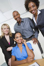 Business People Smiling Together Royalty Free Stock Image