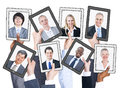 Business People and Social Networking Concepts Royalty Free Stock Photo