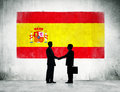 Business People With Spanish F...