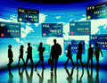 Business People Stock Exchange...