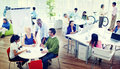 Business People Team Creative Eco Office Concept Royalty Free Stock Photo