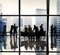 Business people team discussion office concept Royalty Free Stock Image