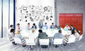 Business people team teamwork cooperation occupation partnership concept Royalty Free Stock Image