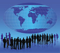 Business People - vector Royalty Free Stock Images