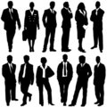 Business people vector Stock Images