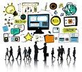 Business People Web Design Con...