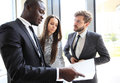 Business People Working Teamwork Cooperation Conference. Royalty Free Stock Photo