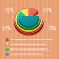 Business pie chart for documents and reports for documents reports graph infographic plan Stock Photos
