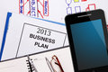 Business plan for 2013 Stock Photography