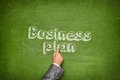 Business plan concept Royalty Free Stock Photo