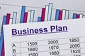 Business plan of a permanent establishment Royalty Free Stock Photography