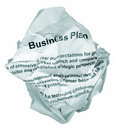 Business plan reject Royalty Free Stock Photography