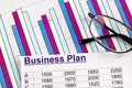 Business plan a for starting a ideas and strategies for self employment Royalty Free Stock Images